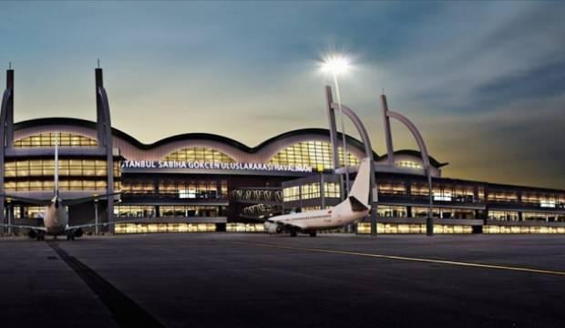 Avrupa'nın en yoğun beşinci havalimanı Sabiha Gökçen