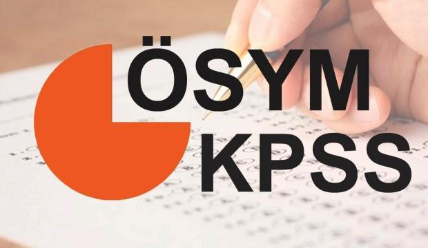 2020 KPSS Ortaöğretim için son başvuru bugün