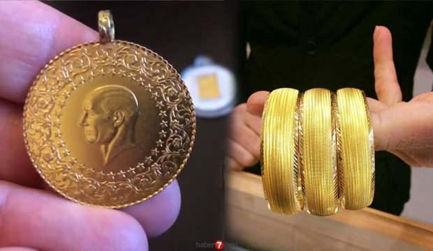 Çeyrek Altın Gram Altın bilezik alış satış fiyatları: Altın fiyatları yeni rekora koşuyor!