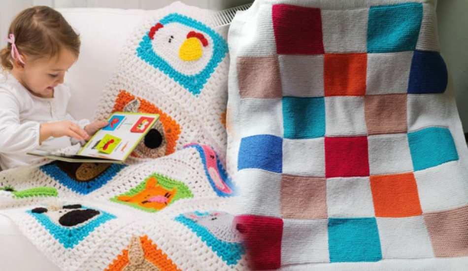 Haroşa bebek battaniyesi nasıl yapılır? En kolay haroşa bebek battaniye yapımı