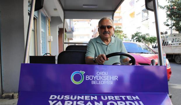 Ordu Büyükşehir Belediye Başkanı Hilmi Güler'den, elektrikli araç tanıtımı