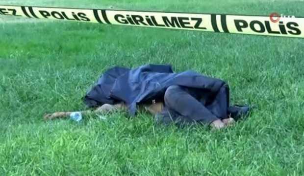 Parkta erkek cesedi bulundu