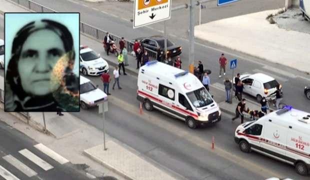 Servis minibüsünün çarptığı yaşlı kadın hayatını kaybetti