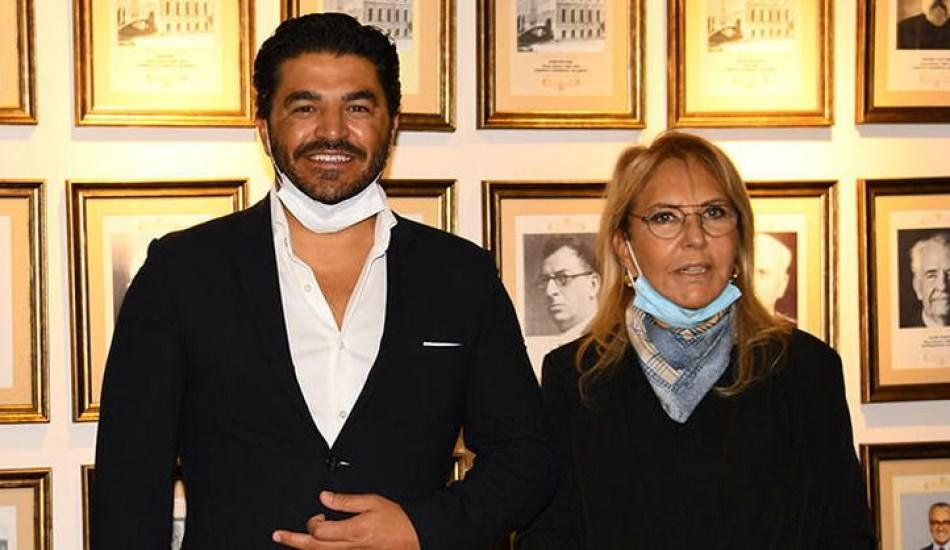 Ebru Şallı'nın eşi Uğur Akkuş 130 bin maske bağışladı!