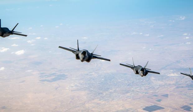 ABD'den Orta Doğu'da provokatif F-35 tatbikatı! F-16'lar düşman uçak rolünde