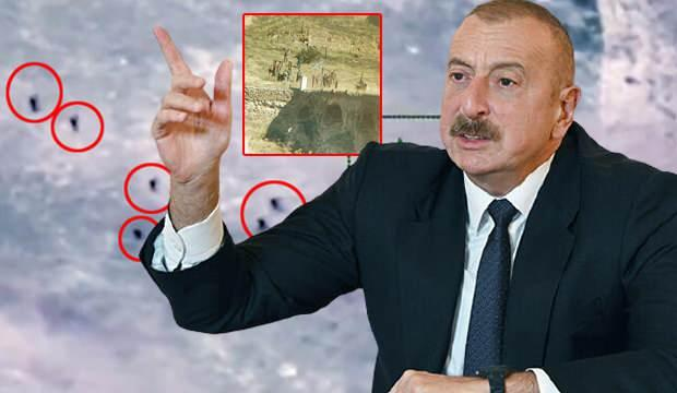 Aliyev duyurdu: Tarihi köprüye bayrak dikildi! Savaş uçakları havalandı, SU-25 düşürüldü