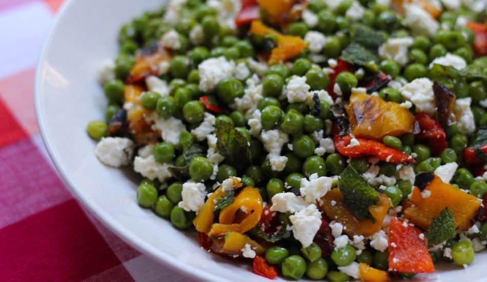 Bezelye salatası nasıl yapılır? Bezelye salatasının en kolay tarifi