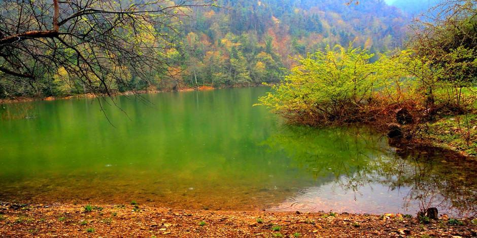 Bolu'nun saklı cenneti Sülüklü Göl