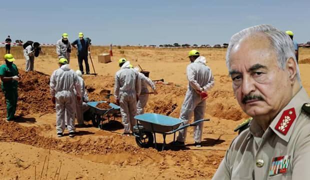 Darbeci Hafter'in katliamları bir bir ortaya çıkıyor! Yeni toplu mezarlar bulundu