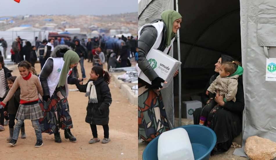 Gamze Zeynep Özçelik Filistin'deki mülteci kamplarına gitti!