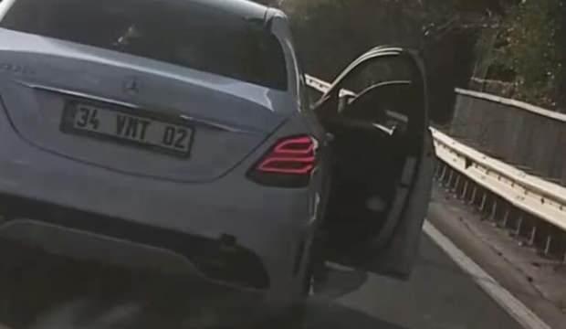 İstanbul trafiğinde yaptığı pes dedirtti