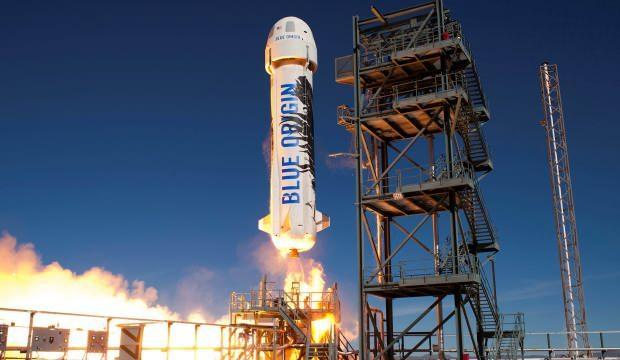 Jeff Bezos'un şirketi Ay'a iniş için deneme uçuşu yaptı