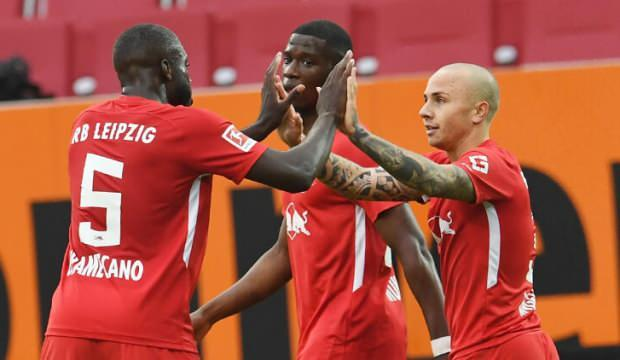 Leipzig deplasmanda 3 puanı 2 golle aldı