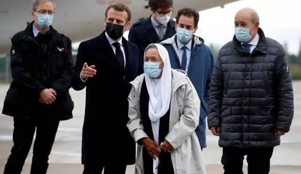 Macron'un şovu kursağında kaldı: 'Benim adım Sophie değil Meryem'