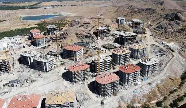 Malatya'da deprem konutlarının birinci etabı, ekim sonunda tamam
