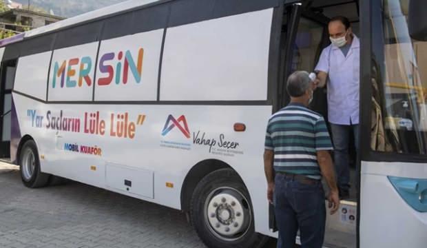 """Mersin'de """"Mobil Kuaför"""" dönemi başladı"""
