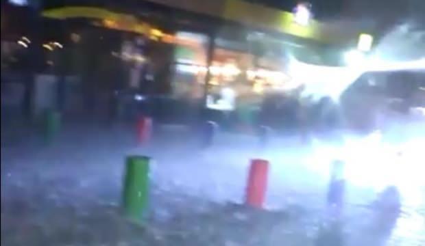 Meteoroloji Ankara için uyarmıştı! Her şey 10 dakikada oldu
