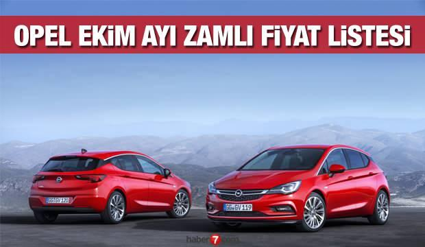 Opel yeni zamlı fiyat listesini yayınladı! İşte 2020 Corsa Astra Crossland X güncel fiyatı