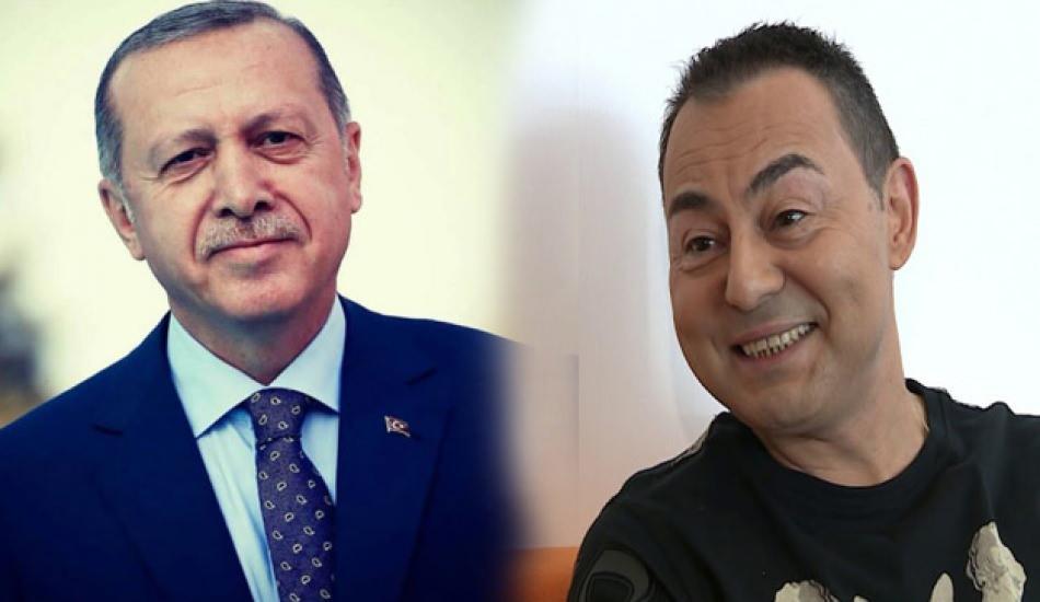 Serdar Ortaç'tan Başkan Erdoğan ve AK Parti'ye övgü dolu sözler!