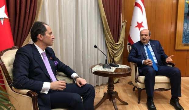 Yeniden Refah Partisi Genel Başkanı Fatih Erbakan, Tatar'ı tebrik etti