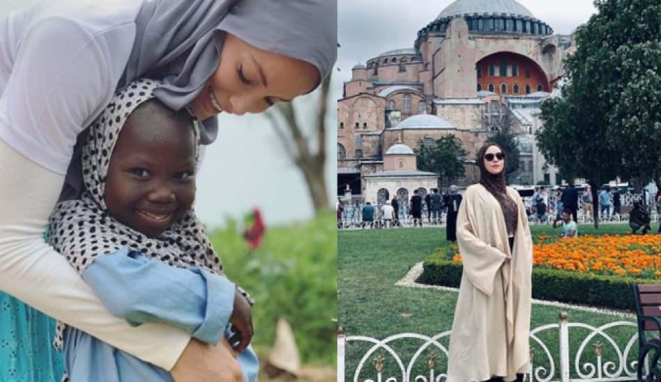Zeynep Gamze Özçelik'in kız kardeşi Ayasofya'da! Gamze Özçelik'in kardeşi Meltem Özçelik kimdir