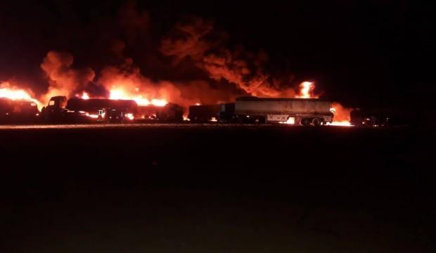 Cerablus'ta akaryakıt pazarı saldırısı: 5 kişi öldü, 15 kişi yaralandı