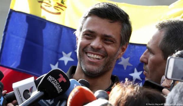 ABD'nin darbe ümidiydi! Leopoldo Lopez İspanya'ya kaçtı