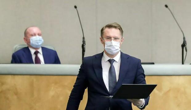Aile üyesi koronavirüs pozitif çıkan Rusya Sağlık Bakanı karantinada
