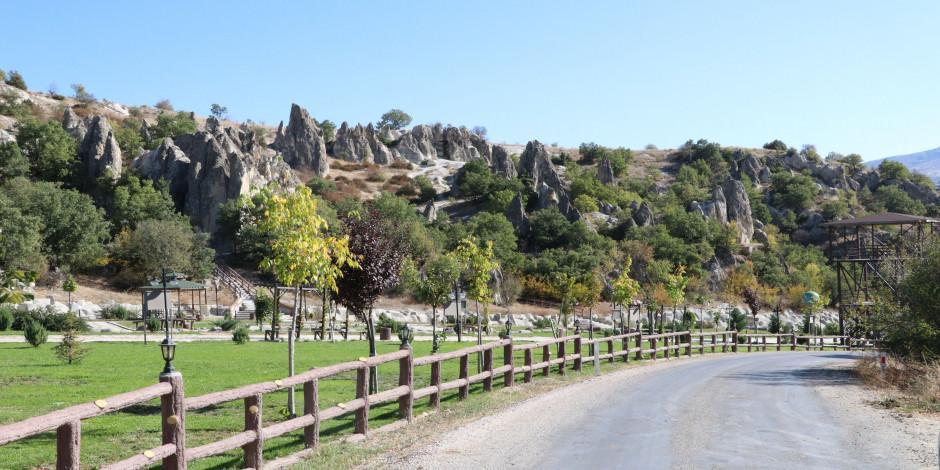Ankara'nın Kapadokya'sı: Abacı peribacaları