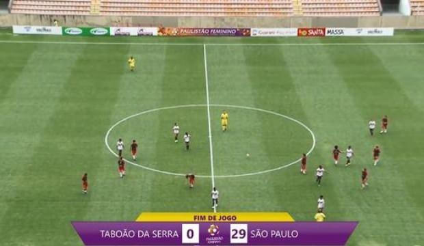 Brezilya'da tarihi maç! 29-0 yendiler