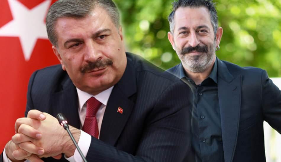 Sağlık Bakanı Fahrettin Koca'dan Cem Yılmaz'ın önerisine destek geldi!