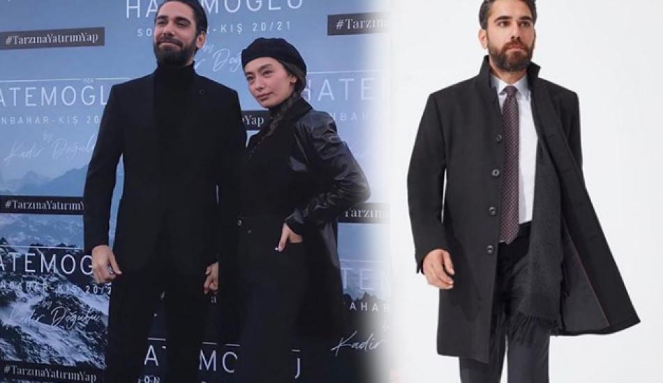 Erkek giyim markası Hatemoğlu'nun yüzü olan Kadir Doğulu'dan lansman paylaşımı!