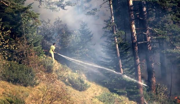 Kastamonu'daki yangın 4 gündür söndürülemiyor
