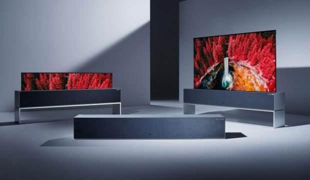 LG'nin kıvrılabilir Oled TV'si pazara sunuldu