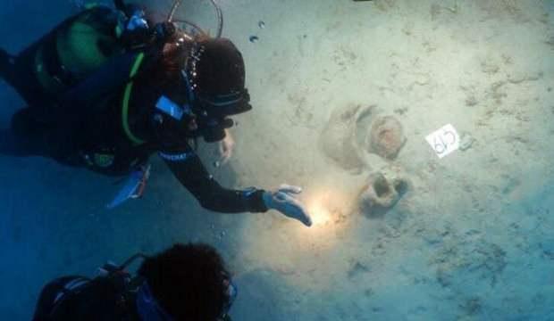 Muğla'da denizin dibinde 4 bin yıllık eserler bulundu