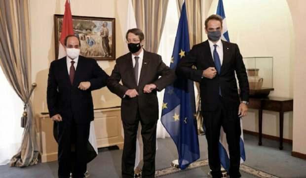 Rum tarafında Türkiye karşıtı zirve: Üç ülke bir arada