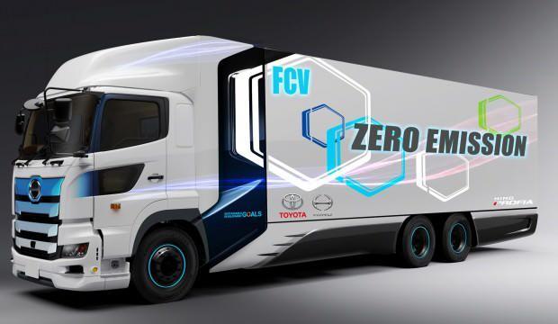 Toyota ve Hino Trucks'tan hidrojen yakıt hücreli araç