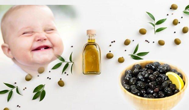 Bebekler için az tuzlu zeytin yapımı! Bebeklere zeytin kaçıncı ayda verilmeli?