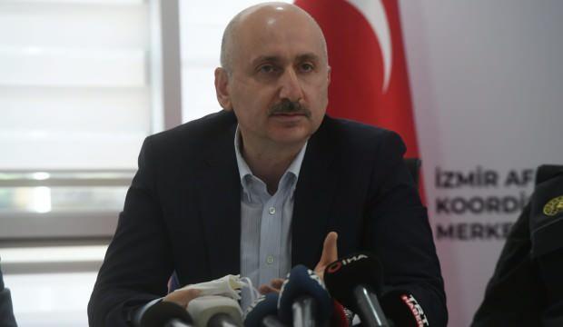 Bakan duyurdu: İzmir'de ulaşım ve haberleşme kesintisiz sağlanıyor