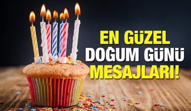 Doğum günü mesajları & Güzel anlamlı ve özel 2020 doğum günü sözleri!