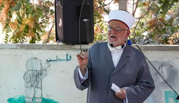 İsrail güçleri, Mescid-i Aksa İmam Hatibi Şeyh Sabri'yi tehdit etti