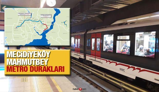 M7 Mecidiyeköy-Mahmutbey metro hattı durakları | Hangi hatlara aktarma yapılabilecek?