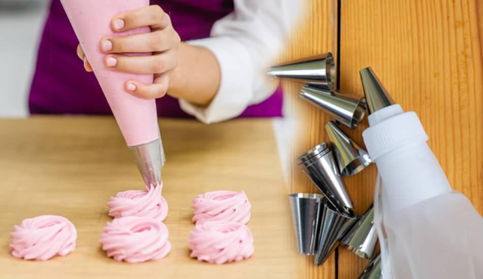 Pastacılıkta sıkma torbası nasıl kullanılır? Sıkma torbası nasıl doldurulur