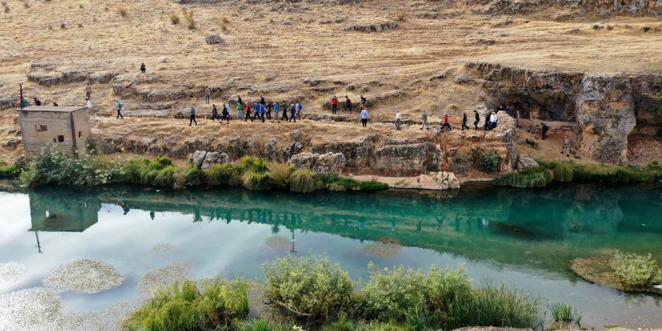 Saklı cennet Habeş kanyonu, doğa yürüyüşünün merkezi oluyor!