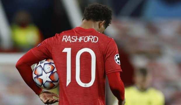 United'ın İngiliz yıldızı Rashford'un yaptığı hat-trick tarihe geçti