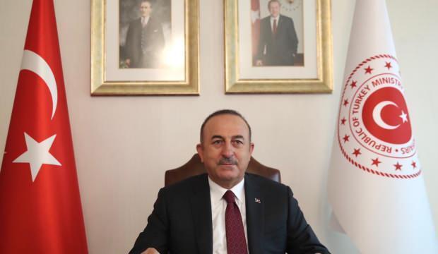 Bakan Çavuşoğlu: Dinin en kutsal değerlerini karalamak ifade özgürlüğü olarak gösterilemez