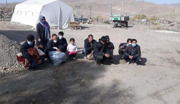 Van'da Afganistan uyruklu 12 kaçak göçmen yakalandı