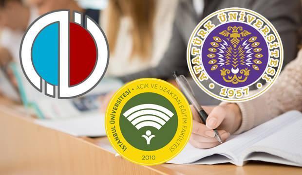 Anadolu Üniversitesi AÖF AUZEF ve ATA AÖF sınavları ne zaman, ne şekilde yapılacak?