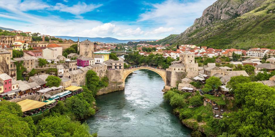 Balkanlar'daki 'Osmanlı gerdanlığı' Mostar Köprüsü