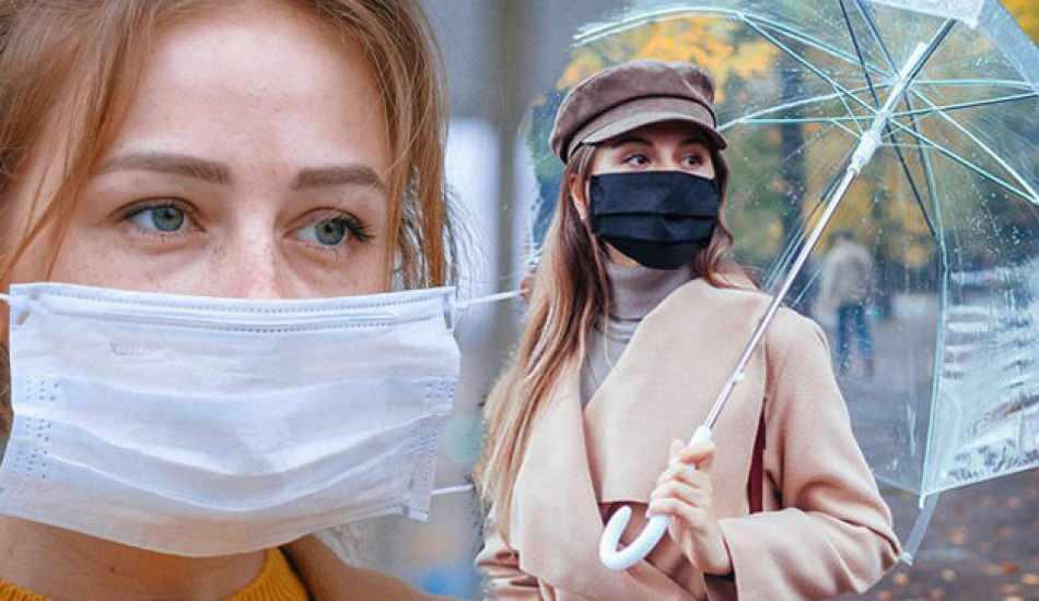 Bilim Kurulu Üyesi: Yanlış maske kullanımı riski artırıyor! Maske yağmurdan etkilenir mi?